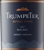露迪尼小号传统马尔贝克红葡萄酒(Rutini Wines Trumpeter Malbec, Mendoza, Argentina)