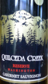 奎塞达珍藏赤霞珠干红葡萄酒(Quilceda Creek Reserve Cabernet Sauvignon,Washington,USA)