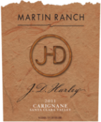 马丁JD佳丽酿干红葡萄酒(Martin Ranch Winery J D Hurley Carinena,Amador County,USA)