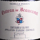 博卡斯特尔酒庄教皇新堡红葡萄酒(Chateau de Beaucastel, Chateauneuf-Du-Pape, France)