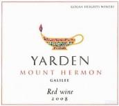 戈兰高地亚登山埃尔蒙红葡萄酒(Golan Heights Winery Yarden Mount Hermon Red, Galilee, Israel)