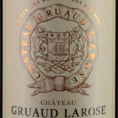 金玫瑰城堡红葡萄酒(Chateau Gruaud Larose,Saint-Julien,France)