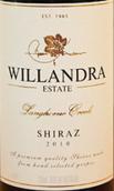威兰德拉庄园优质精选设拉子红葡萄酒(Willandra Estate Premium Selection Shiraz, Langhorne Creek, Australia)