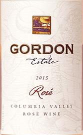 戈登酒庄桃红葡萄酒(Gordon Estate Winery&Vineyards Rose,Columbia Valley,USA)