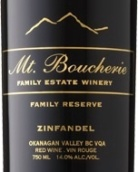 布谢里山珍藏仙粉黛干红葡萄酒(Mt.Boucherie Family Reserve Zinfandel,Simikameen Valley,...)