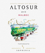 索菲亚酒庄阿图索马尔贝克干红葡萄酒(Finca Sophenia Altosur Malbec, Tupungato, Argentina)