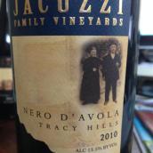 佳卡兹酒庄黑珍珠红葡萄酒(Jacuzzi Family Nero D'Avola,Tracy Hills,USA)