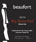 博福特大鼻子混酿干红葡萄酒(Beaufort Big Nose Red,British Columbia,Canada)
