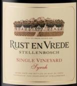 瑞斯德路酒庄单一园西拉红葡萄酒(Rust en Vrede Single Vineyard Syrah, Stellenbosch, South Africa)