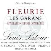 路易拉图福乐里格翰斯干红葡萄酒(Louis Latour Fleurie Les Garans,Cru du Beaujolais,France)