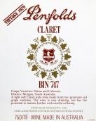 奔富Bin 747干红葡萄酒(Penfolds Bin 747 Dry Red, South Australia, Australia)