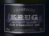 库克安邦内黑钻黑中白香槟(Krug Clos d'Ambonnay Blanc de Noirs Brut, Champagne, France)