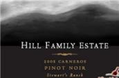希尔家族酒庄斯图尔特牧场黑皮诺干红葡萄酒(Hill Family Estate Stewart Ranch Pinot Noir,Napa Valley,USA)