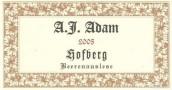 A.J. Adam Dhroner Hofberg Riesling Beerenauslese, Mosel, Germany