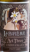 德保利波西美亚人第三幕白葡萄酒(De Bortoli La Boheme Act Three Pinot Gris & Friends, Yarra Valley, Australia)