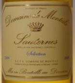 蒙玳精选苏玳贵腐甜白葡萄酒(Domaine de Monteils Selection, Sauternes, France)