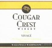 美洲狮活泼干白葡萄酒(Cougar Crest Winery Vivace,Washington,USA)
