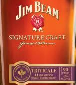 占边标志性精酿11年黑小麦肯塔基纯波本威士忌(Jim Beam Signature Craft 11 Year Triticale Kentucky Straight...)