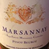 富祖利酒庄马沙内波侯皮诺红葡萄酒(Domaine Fougeray De Beauclair Marsannay Pinot Beurot,Cote ...)
