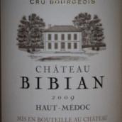 碧安庄园干红葡萄酒(上梅多克)(Chateau Bibian,Haut-Medoc,France)