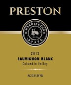 普雷斯顿长相思干白葡萄酒(Preston Premium Wines Sauvignon Blanc,Columbia Valley,USA)