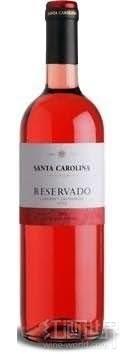 圣卡罗珍藏赤霞珠桃红葡萄酒(Santa Carolina Reservado Caberent Sauvignon Rose, Central Valley, Chile)
