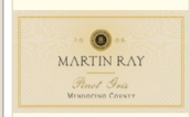 马丁雷灰皮诺干白葡萄酒(Martin Ray Pinot Gris, Mendocino County, USA)