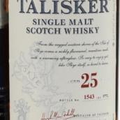 大力斯可25年苏格兰单一麦芽威士忌(Talisker Aged 25 Years Single Malt Scotch Whisky,Isle of ...)
