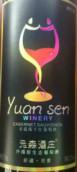 元森酒庄赤霞珠红葡萄酒(Yuan Sen Winery Cabernet Sauvignon, Xinjiang, China)