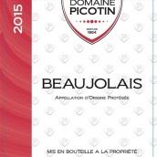 碧哥潭酒庄干红葡萄酒(Domaine Picotin La Bouteille Rouge,Beaujolais,France)