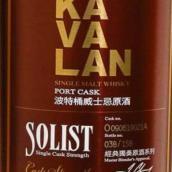 噶玛兰经典独奏波特桶原酒单一麦芽威士忌(Kavalan Solist Port Single Cask Strength Single Malt Whisky,...)