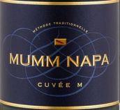 玛姆纳帕特酿M起泡酒(Mumm Napa Cuvee M, Napa Valley, USA)
