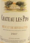 唐-布里亚松树酒庄里韦萨特麝香天然甜白葡萄酒(Vignobles Dom-Brial Chateau Les Pins Muscat de Rivesaltes,...)