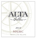阿尔塔马尔贝克干红葡萄酒(Alta Cellars Winery Malbec,Wahluke Slope,USA)