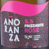 洛萨诺酒庄罗曼桃红起泡酒(Bodegas Lozano Anoranza Frizzante Rose, La Mancha, Spain)