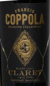 柯波拉宝石精选黑牌克莱干红葡萄酒(Francis Ford Coppola Diamond Collection Black Label Claret, California, USA)