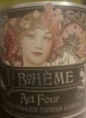 德保利波希美亚人第四幕干红葡萄酒(De Bortoli La Boheme Act Four Syrah - Gamay, Yarra Valley, Australia)