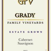 格雷迪家族酒庄赤霞珠干红葡萄酒(Grady Family Vineyards Cabernet Sauvignon, Lodi, USA)
