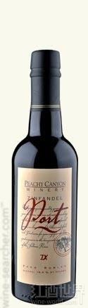 桃红峡谷仙粉黛波特风格加强酒(Peachy Canyon Zinfandel Port,Paso Robles,USA)