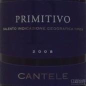 Cantele Primitivo Salento IGT,Puglia,Italy
