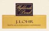 杰罗高原沙滩霞多丽干白葡萄酒(J.Lohr Highlands Bench Chardonnay,Santa Lucia Highlands,USA)