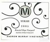 穆雷烤坡园西拉干红葡萄酒(Andrew Murray Roasted Slope Vineyard Syrah,Santa Ynez Valley...)