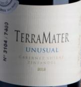 特雷玛特酒庄非凡系列赤霞珠西拉仙粉黛混酿红葡萄酒(TerraMater Unusual Cabernet - Shiraz - Zinfandel, Maipo Valley, Chile)