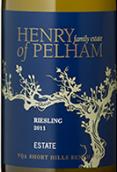 亨利佩勒姆家族酒庄雷司令干白葡萄酒(Henry of Pelham Estate Riesling,Ontario,Canada)