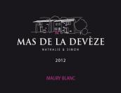 迪维茨酒庄莫里天然甜白葡萄酒(Mas de la Deveze Blanc,Maury Vin Doux Naturel,France)