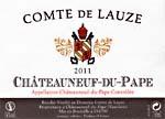 洛兹伯爵教皇新堡干白葡萄酒(Domaine Comte de Lauze Chateauneuf-du-Pape Blanc, Rhone, France)