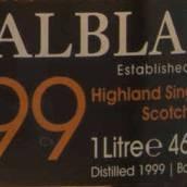 巴布莱尔1999年份旅行专卖版苏格兰单一麦芽威士忌(Balblair 1999 Vintage Exclusive To Travel Retail Single Malt...)
