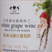 驼铃吐鲁番葡萄熟了无核白葡萄酒(Chateau Tuoling Turpan Ripe Grape Wuhebai,Tulufan,China)