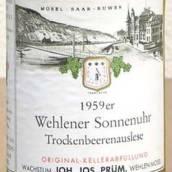 普朗温勒内日晷园雷司令逐粒枯萄精选甜白葡萄酒(Joh.Jos.Prum Wehlener Sonnenuhr Riesling ...)