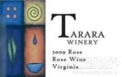 塔拉拉桃红葡萄酒(Tarara Winery Rose,Virginia,USA)